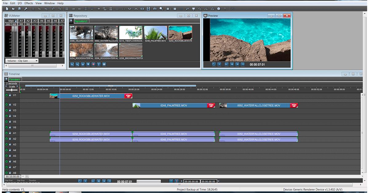 Programa de edición de video ivsEdits