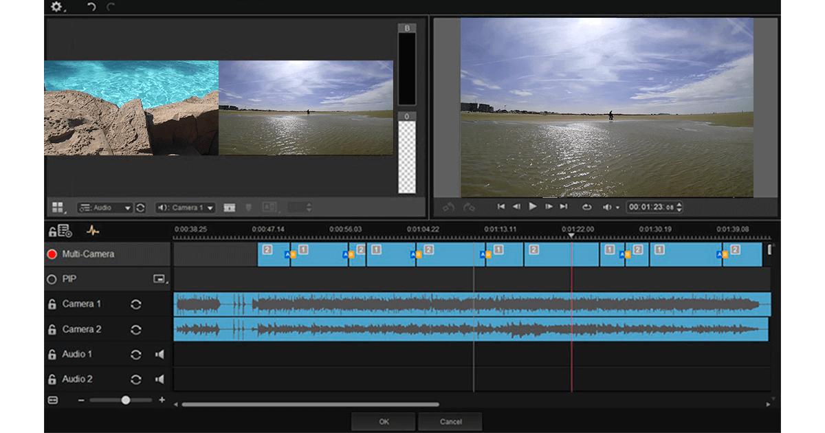 Programa de edición de video roxio nxt5