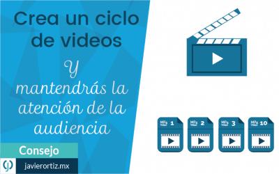 Crea un ciclo de video para tu empresa