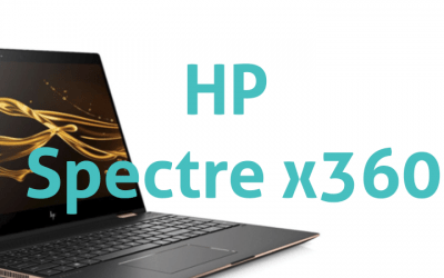 HP Spectre x360-Laptop para edición de video y Live Streaming