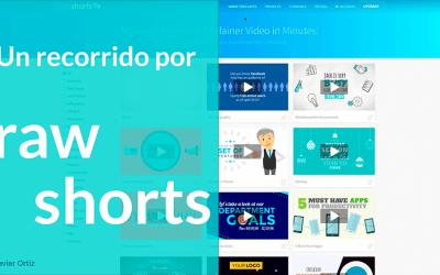 raw shorts – aplicación para presentaciones animadas