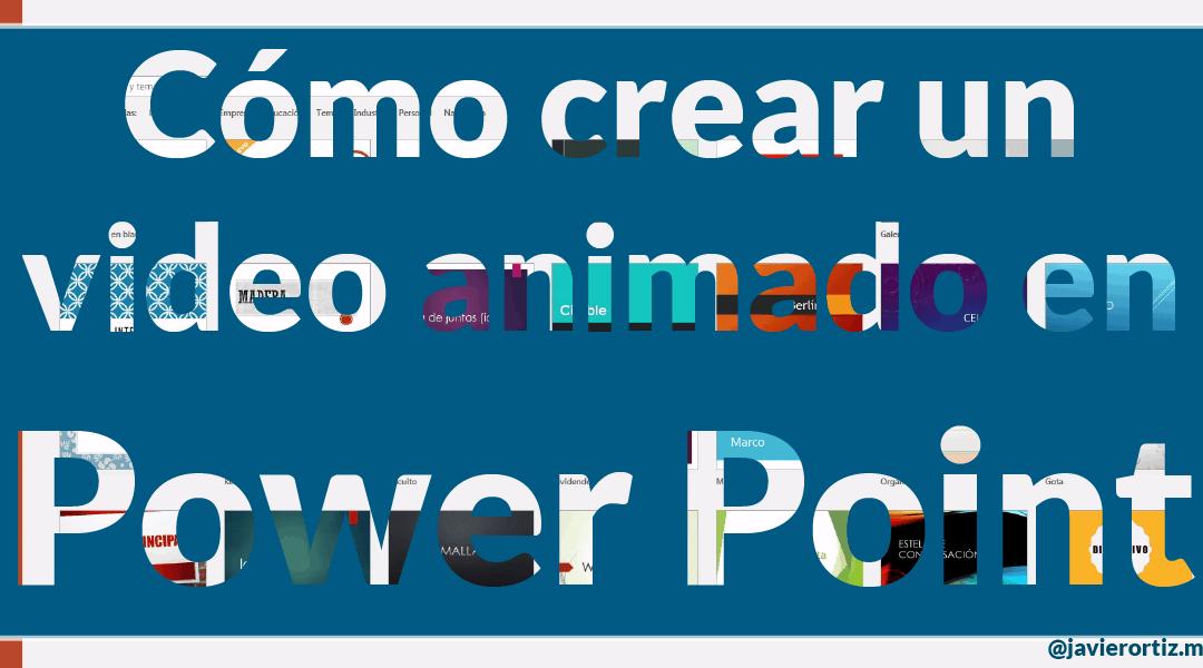 Cómo crear un video para Facebook en Power Point 2016