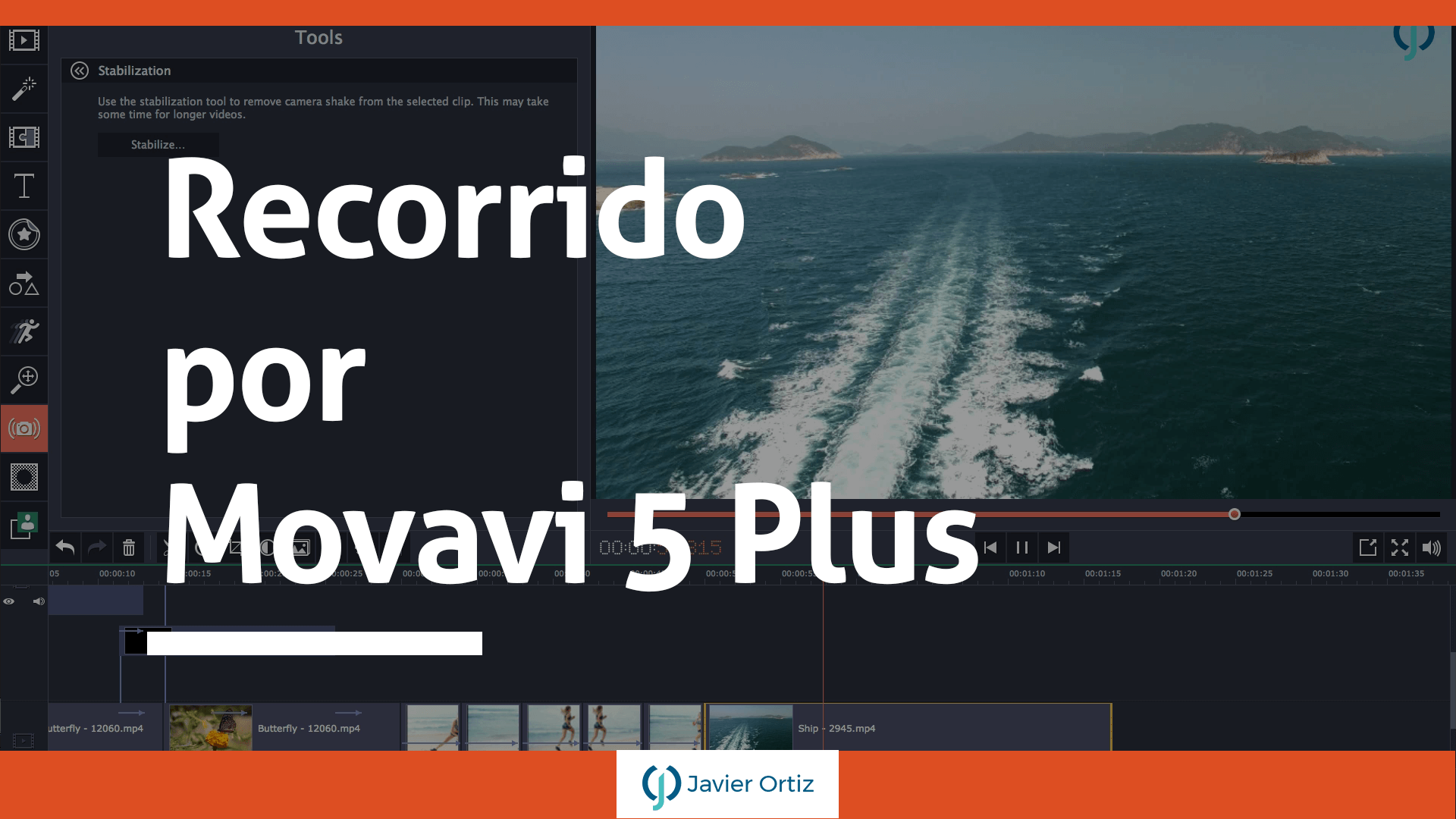Movavi 5 plus - editor de video