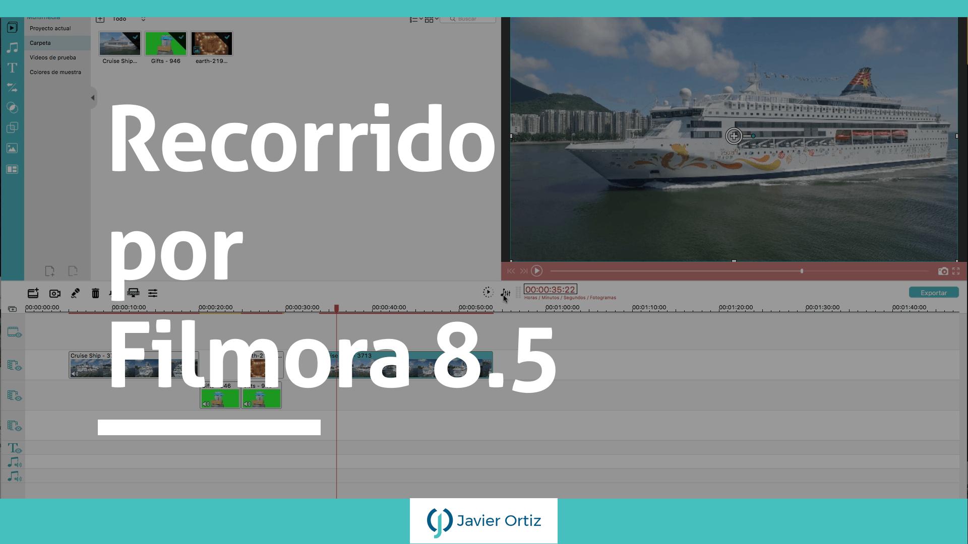 Filmora 8.5 - editor de video
