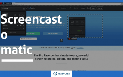Screencast-o-matic – grabador de pantalla