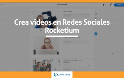Rocketium – aplicación para crear videos en redes sociales