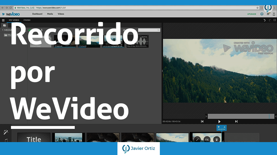 Wevideo-Editor de video online