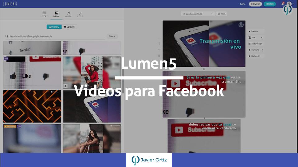 Lumen5 - videos para redes sociales