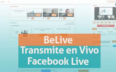 BeLive-transmite en vivo a Facebook Live