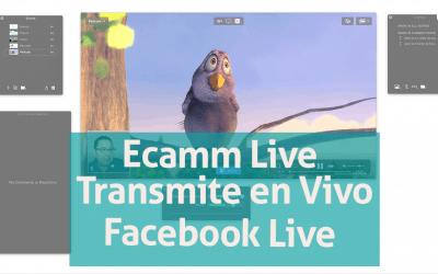 Ecamm Live – Transmite a Facebook Live como profesional