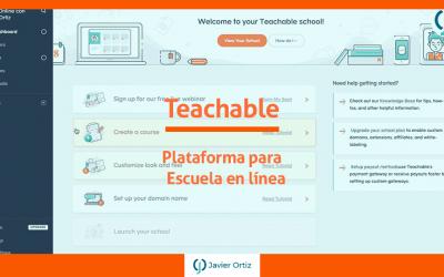 Teachable | Crea tu escuela en línea con cursos en video
