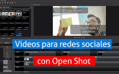 ▷ Openshot | editor de videos gratuito + tutorial