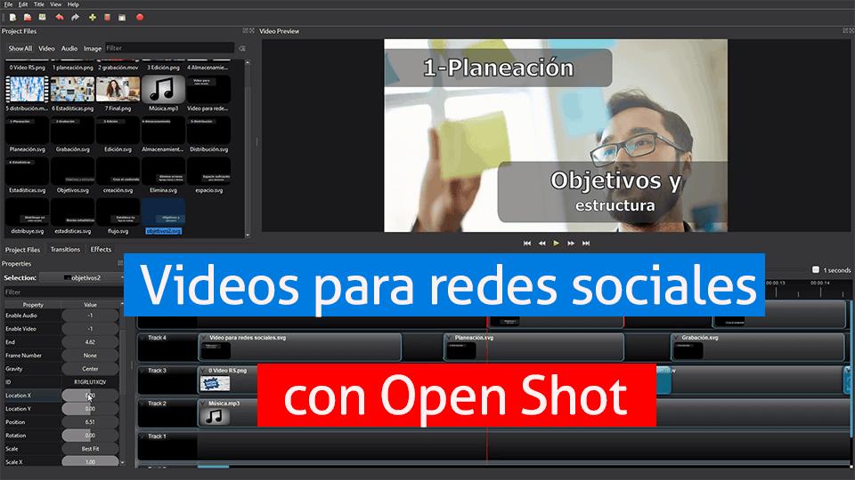 Openshot - editor de videos gratuito