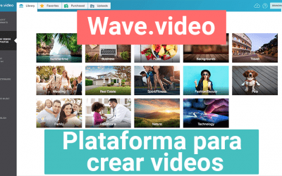 Wave.video | plataforma para crear videos para redes sociales