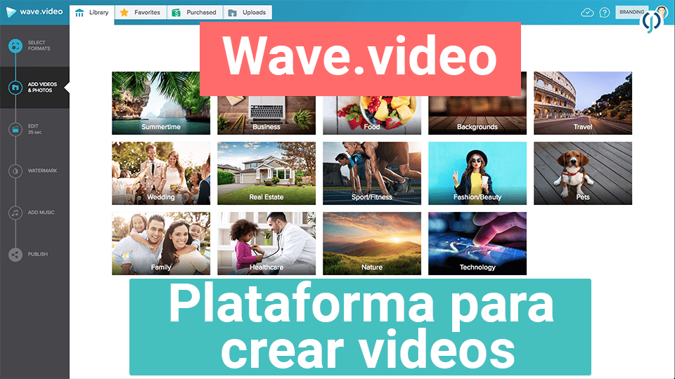 Wave.video - creador de videos