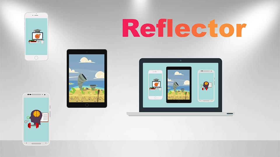 Reflector 3 para duplicar pantalla del móvil