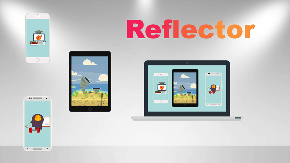 Reflector3 duplicar pantalla