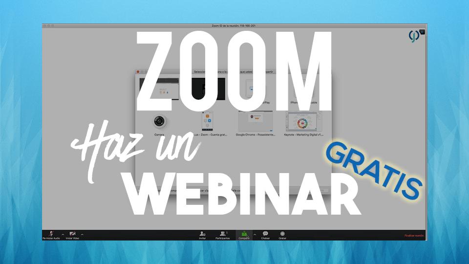 Zoom Webinar Gratis