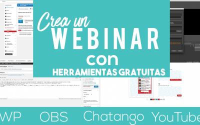 ¿Cómo crear un webinar gratis? | YouTube + OBS + Chatango