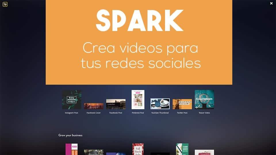 Adobe Spark | Crea videos para tus redes sociales