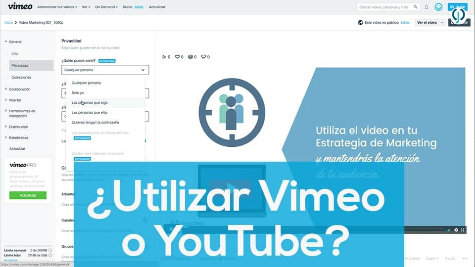 Vimeo o YouTube