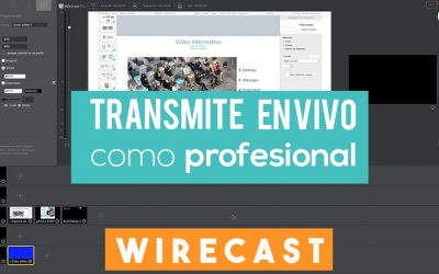 Wirecast | Entrevistas en Facebook Live