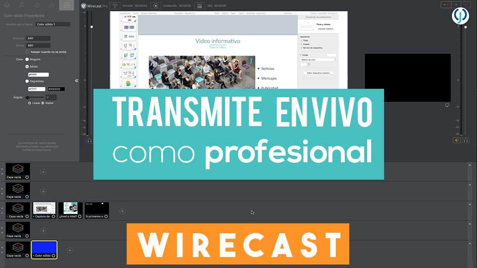 Wirecast-Facebook Live
