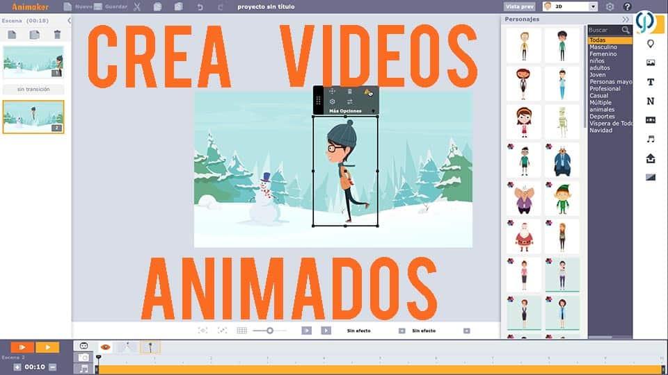Animaker | ¿Cómo crear videos animados?