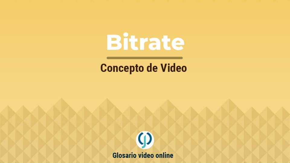 Bitrate de Video
