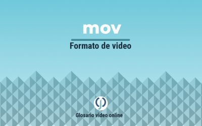 Formato de video mov o archivo de Apple .mov