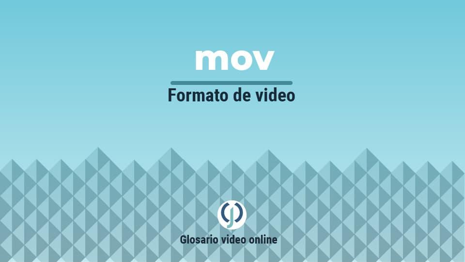 Formato de video mov