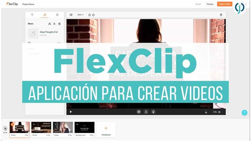 FlexClip | Aplicación para crear videos con imágenes y música-Javier Ortiz